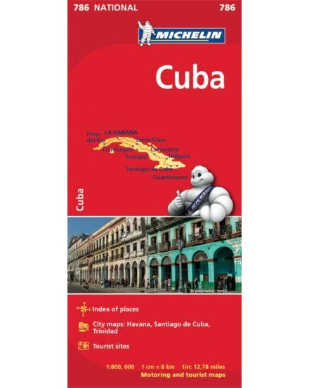 Cartographia  - Kuba térkép 0786 Michelin