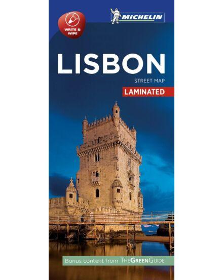 Cartographia  - Lisszabon várostérkép (laminált)