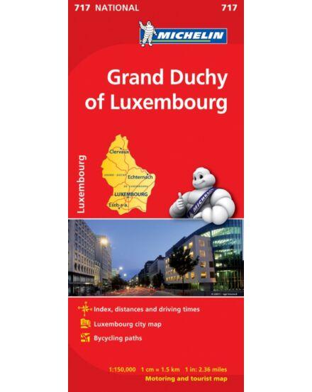 Cartographia  - Luxemburg térkép (717)