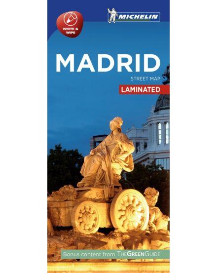 Cartographia  - Madrid várostérkép (laminált)