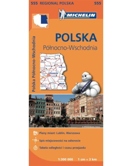 Cartographia  - Északkelet-Lengyelország régiótérkép (555)