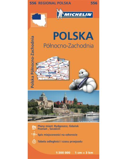 Cartographia  - Észak-Nyugat Lengyelország régiótérkép (556)