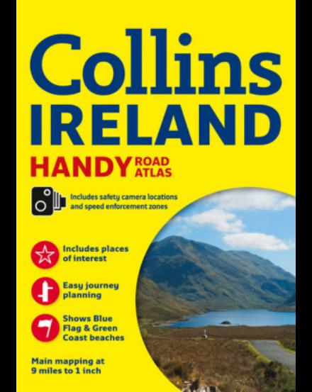 Cartographia  - Írország Touring atlasz