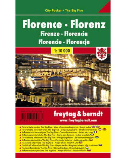 Cartographia  - Firenze City Pocket térkép