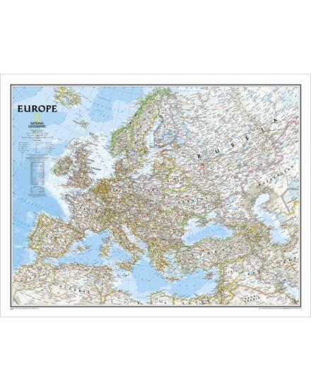 Cartographia  - Európa felitérkép - politikai