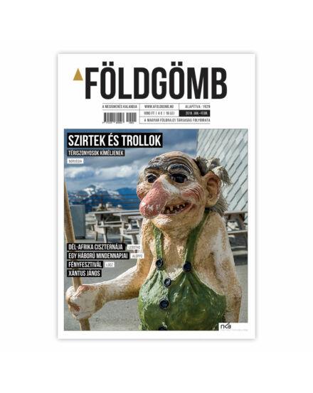 Cartographia  - Földgömb újság 2019. január-február