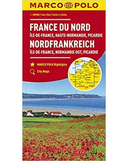 Cartographia  - Észak-Franciaország térkép