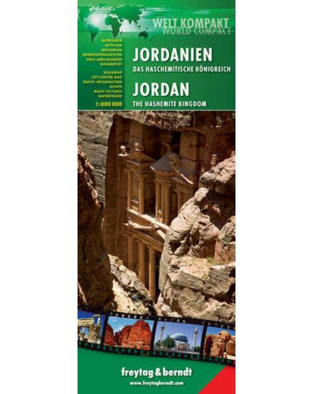 Cartographia  - Jordánia térkép - World Compact