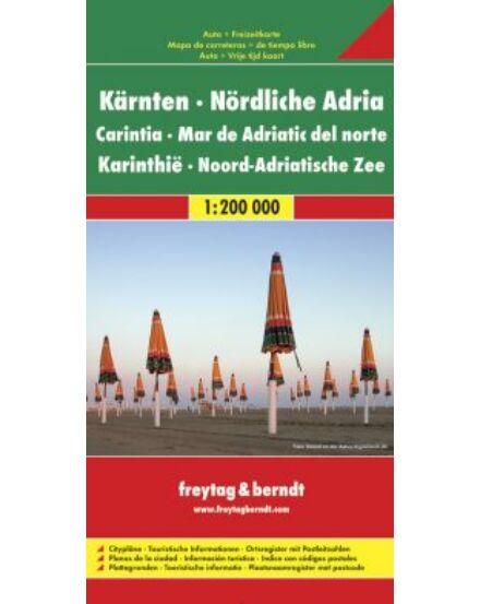 Cartographia  - Karintia és Észak-Adria térkép