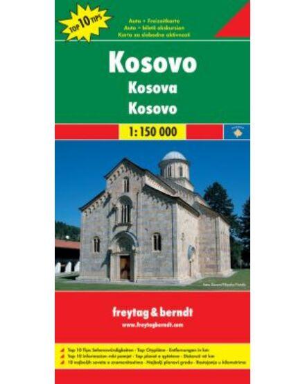 Cartographia  - Koszovó térkép