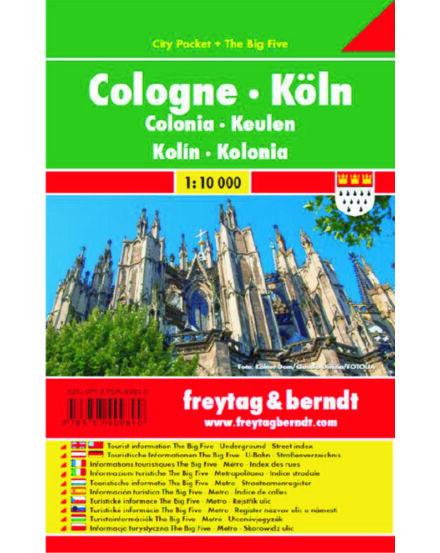 Cartographia  - Köln City Pocket várostérkép