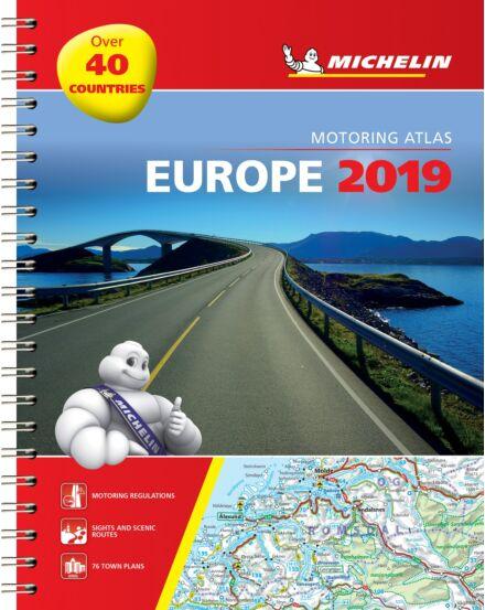 Cartographia  - Európa atlasz (spirál) - Michelin 1136