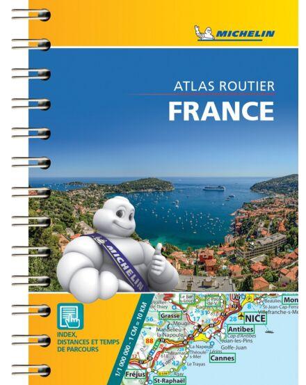 Cartographia  - Franciaország Routier mini atlasz 0095