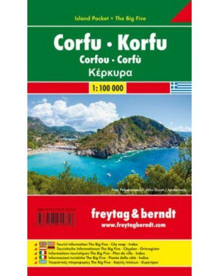 Cartographia  - Korfu térkép - Island Pocket