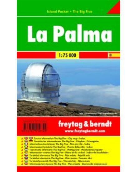 Cartographia  - La Palma térkép - Island Pocket
