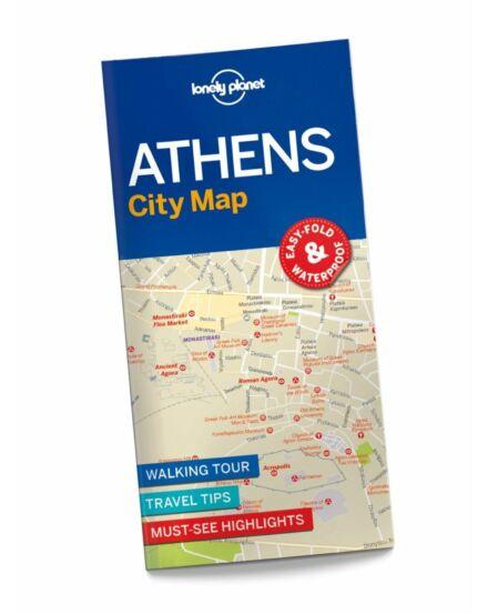 Cartographia  - Athén laminált várostérkép Lonely Planet