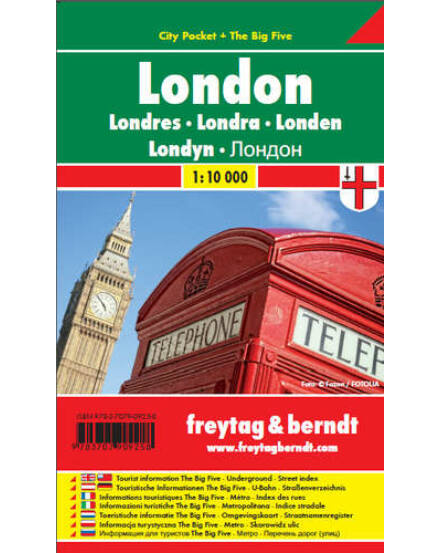 Cartographia  - London City Pocket várostérkép