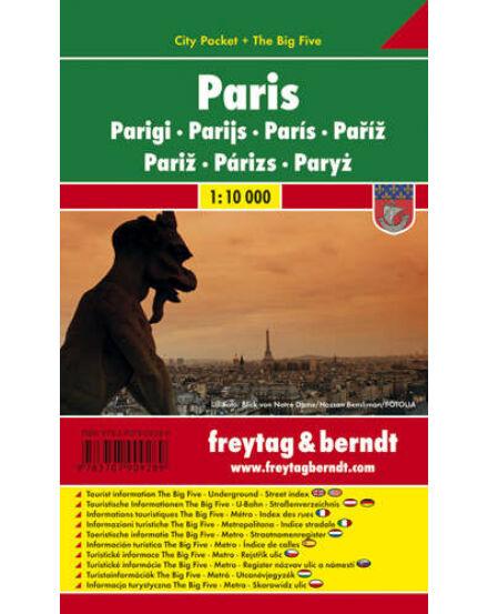 Cartographia  - Párizs City Pocket várostérkép