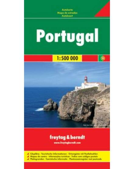 Cartographia  - Portugália térkép