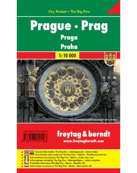 Cartographia  - Prága City Pocket várostérkép