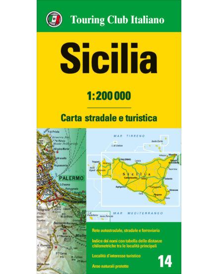 Cartographia  - Olaszország résztérkép - Szicília
