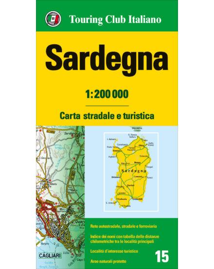 Cartographia  - Szardínia régiótérkép