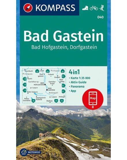 Cartographia  - K 040 Bad Gastein, Bad Hofgastein, Dorfgastein turistatérkép