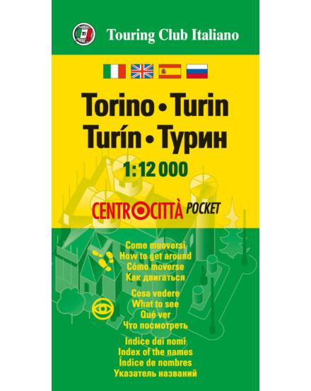 Torino zsebtérkép