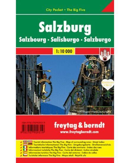 Cartographia  - Salzburg City Pocket várostérkép