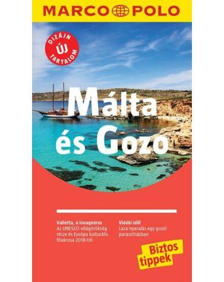 Cartographia  - Málta és Gozo útikönyv - Marco Polo