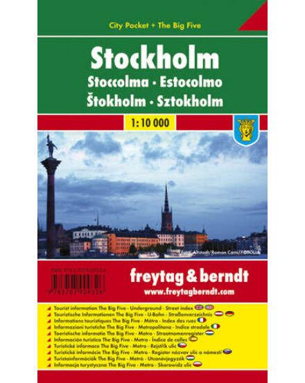 Cartographia  - Stockholm City Pocket térkép