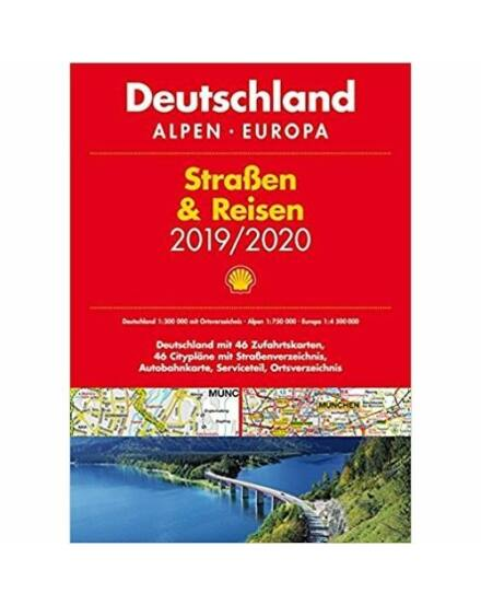 Cartographia  - Németország - Alpok - Európa atlasz