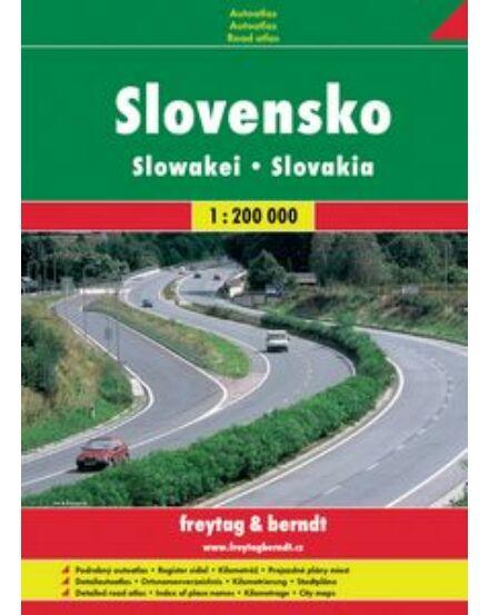 Cartographia  - Szlovákia atlasz