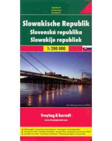 Cartographia  - Szlovákia térkép