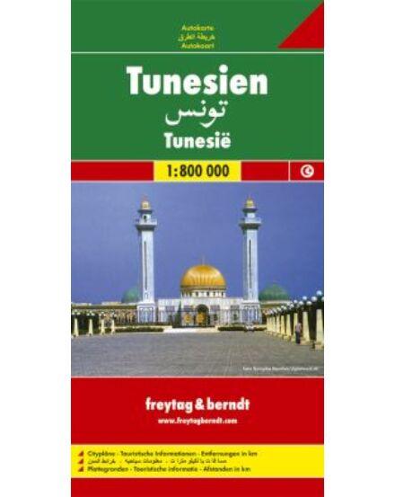 Cartographia  - Tunézia térkép