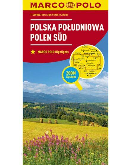 Cartographia  - Lengyelország résztérkép - Dél-Lengyelország