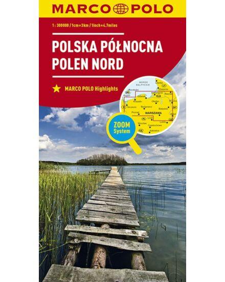 Cartographia  - Lengyelország résztérkép - Észak-Lengyelország
