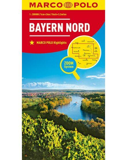 Cartographia  - Németország résztérkép Bajorország-Észak