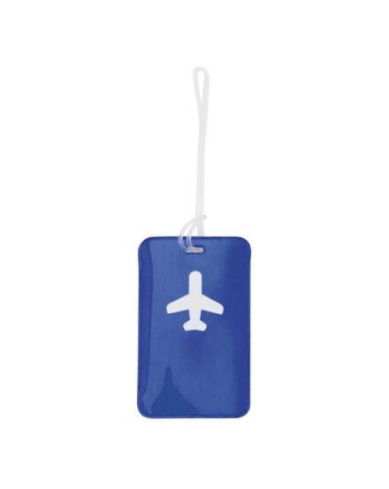 Cartographia  - Raner bőröndcímke ( kék )