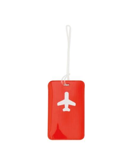 Cartographia  - Bőröndcímke, repülőgép mintás