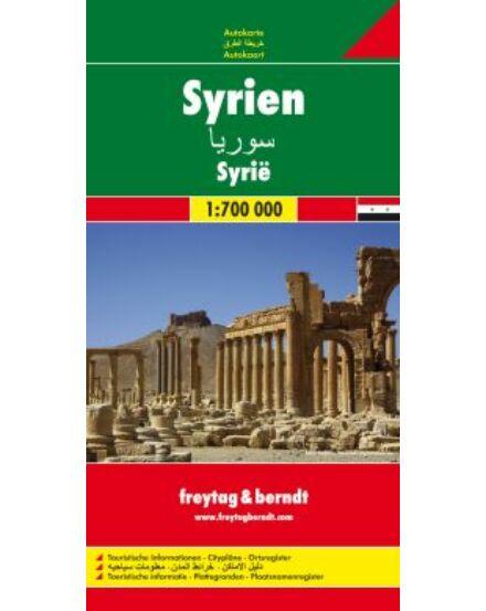 Cartographia  - Szíria térkép