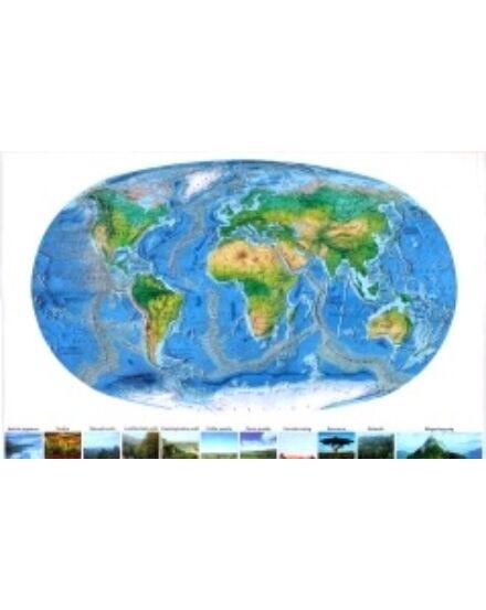 Cartographia  - Föld felszíne - fóliás ív