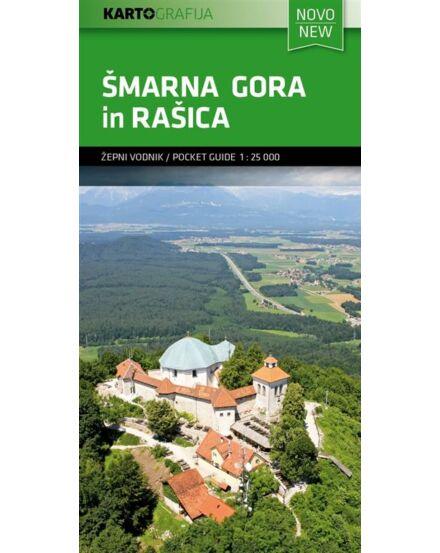 Cartographia  - Smarna Gora in Rasica zsebtérkép
