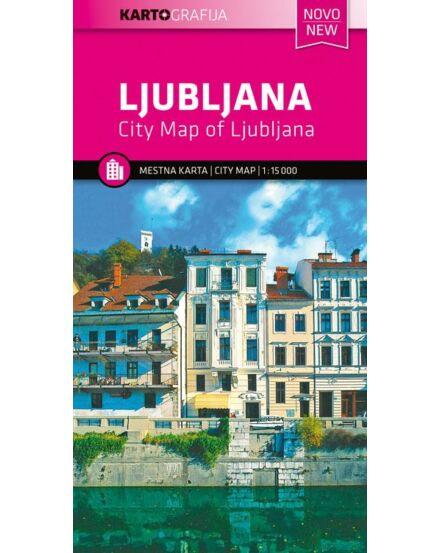 Cartographia  - Ljubljana várostérkép