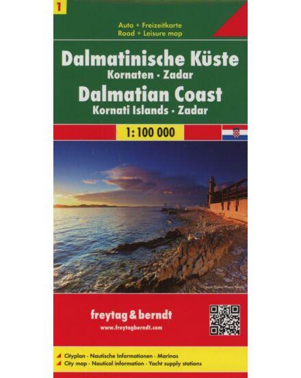 Cartographia  - Dalmát-tengerpart térkép