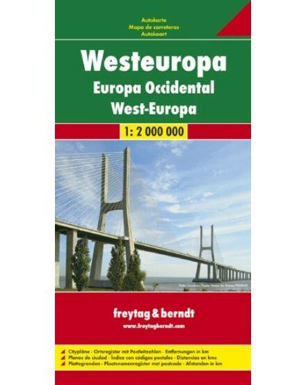 Cartographia  - Nyugat-Európa térkép