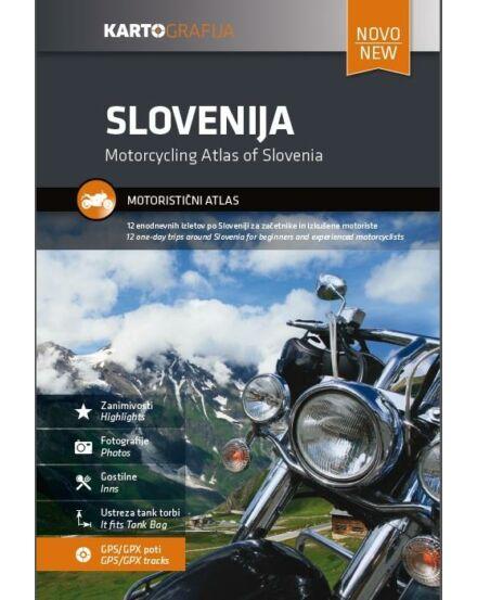 Cartographia  - Szlovénia motoros atlasz