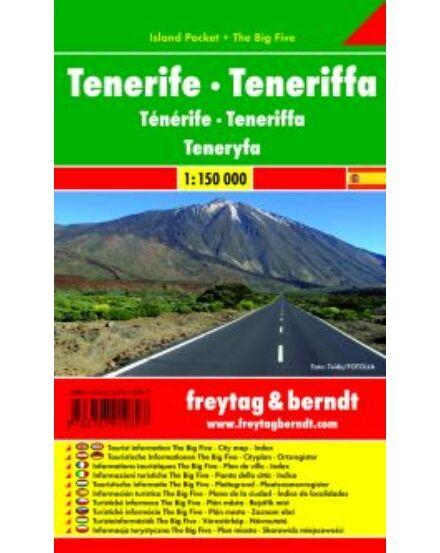 Cartographia  - Tenerife térkép - Island Pocket