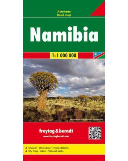 Cartographia  - Namíbia térkép