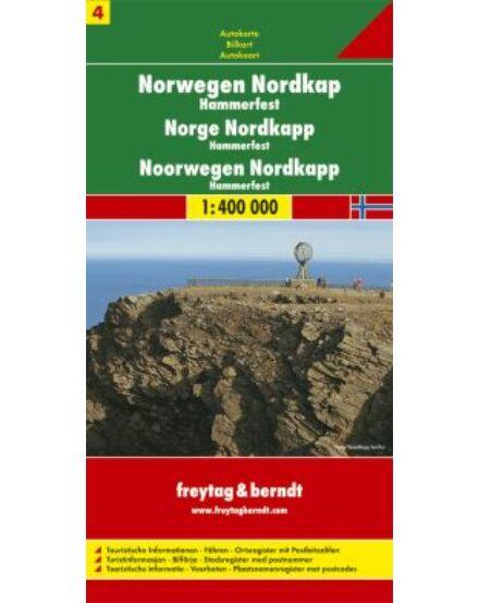 Cartographia  - Norvégia résztérkép (4)  Nordkapp